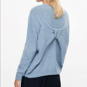 COS Bow Back Wool Sweater